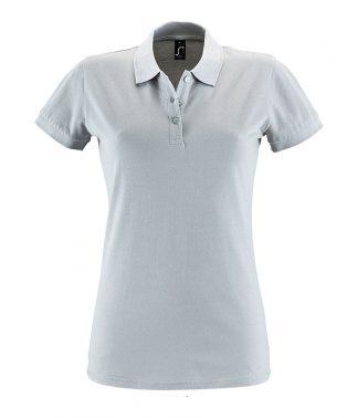 SOLS Ladies Perfect Polo Pure grey XXL (11347 PGE XXL)