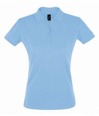 SOLS Ladies Perfect Polo Sky blue XXL (11347 SKY XXL)