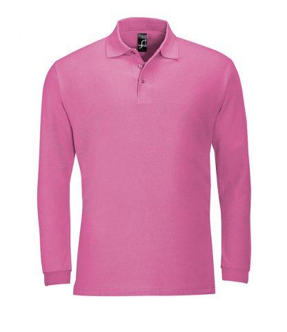 SOLS Winter II L/S Polo Flash pink XXL (11353 FSP XXL)