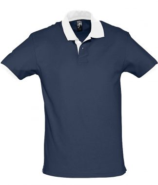 SOLS Prince Contrast Polo F Navy/white XXL (11369 FN/WH XXL)