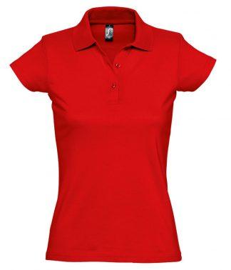 SOLS Lds Prescott Jersey Polo Red XXL (11376 RED XXL)