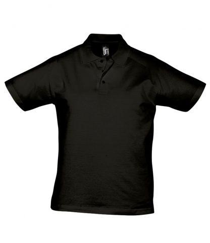 SOLS Prescott Jersey Polo Deep black 3XL (11377 DBK 3XL)