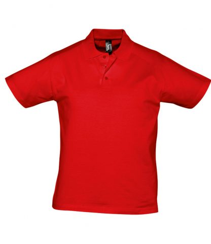 SOLS Prescott Jersey Polo Red 3XL (11377 RED 3XL)