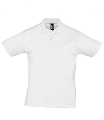 SOLS Prescott Jersey Polo White 3XL (11377 WHI 3XL)