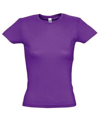 SOLS Ladies Miss T-Shirt Dark purple XXL (11386 DKP XXL)