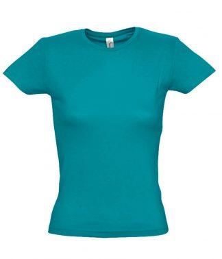 SOLS Ladies Miss T-Shirt Duck blue XXL (11386 DUB XXL)