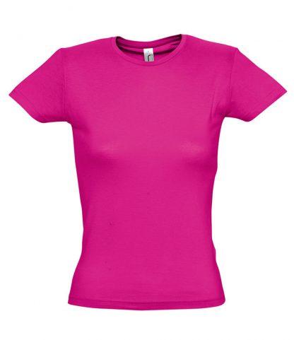 SOLS Ladies Miss T-Shirt Fuchsia XXL (11386 FUS XXL)