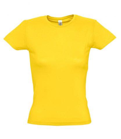 SOLS Ladies Miss T-Shirt Gold XXL (11386 GOL XXL)
