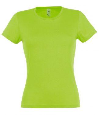 SOLS Ladies Miss T-Shirt Lime XXL (11386 LIM XXL)
