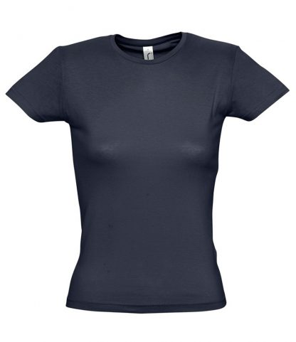 SOLS Ladies Miss T-Shirt Navy XXL (11386 NAV XXL)