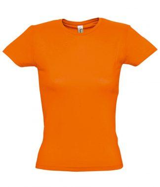 SOLS Ladies Miss T-Shirt Orange XXL (11386 ORA XXL)