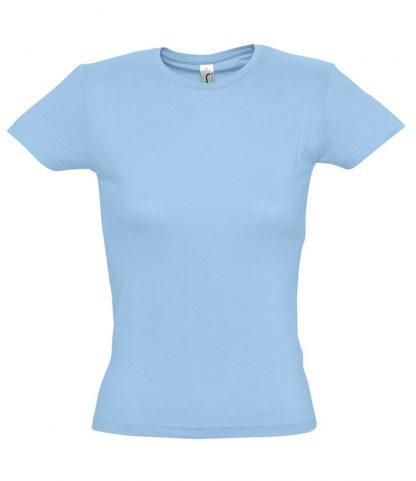 SOLS Ladies Miss T-Shirt Sky blue XXL (11386 SKY XXL)