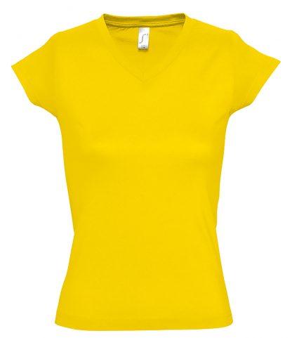 SOLS Ladies Moon V Nk T-Shirt Gold 3XL (11388 GOL 3XL)