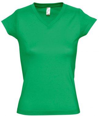 SOLS Ladies Moon V Nk T-Shirt Kelly 3XL (11388 KEL 3XL)