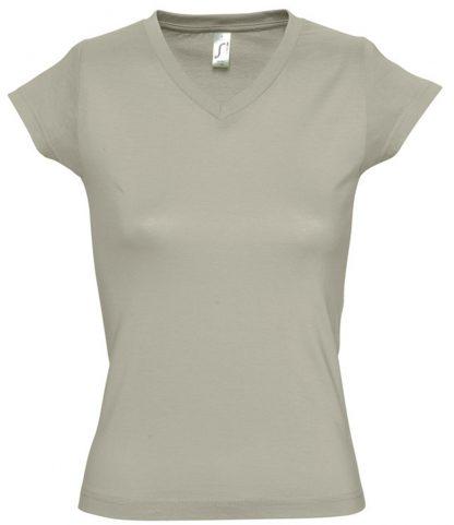 SOLS Ladies Moon V Nk T-Shirt Khaki 3XL (11388 KHA 3XL)