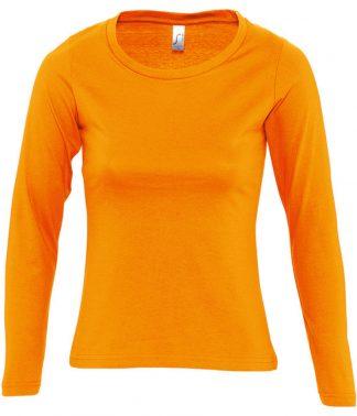 SOLS Lds Majestic L/S T Orange XXL (11425 ORA XXL)