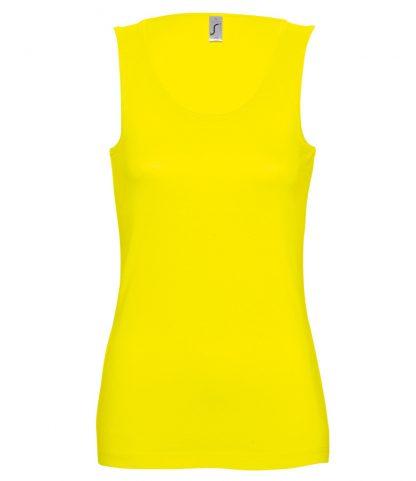 SOLS Ladies Jane Tank Lemon XL (11475 LEM XL)
