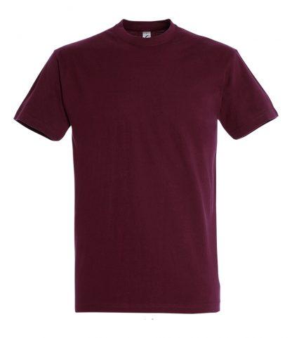 SOLS Imperial T-Shirt Burgundy XXL (11500 BUR XXL)