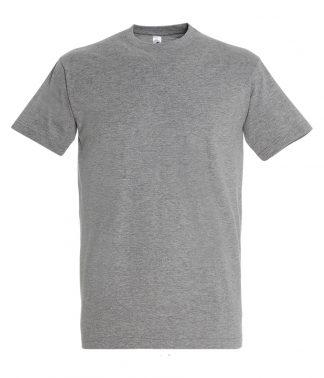 SOLS Imperial T-Shirt Grey marl 5XL (11500 GYM 5XL)