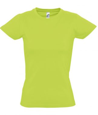 SOLS Ladies Imperial T-Shirt Apple Green XXL (11502 APL XXL)