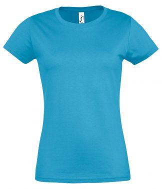 SOLS Ladies Imperial T-Shirt Aqua 3XL (11502 AQA 3XL)