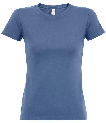 SOLS Ladies Imperial T-Shirt Blue XXL (11502 BLU XXL)