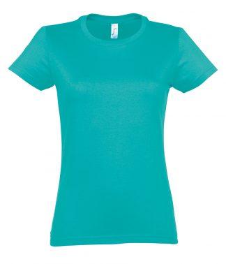 SOLS Ladies Imperial T-Shirt Caribbean blue XXL (11502 CAB XXL)