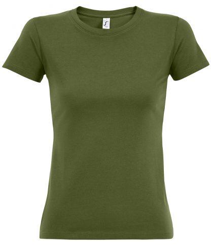 SOLS Ladies Imperial T-Shirt Dark khaki XXL (11502 DKH XXL)