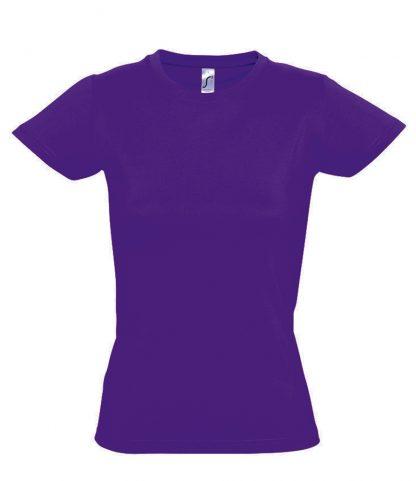 SOLS Ladies Imperial T-Shirt Dark purple XXL (11502 DKP XXL)