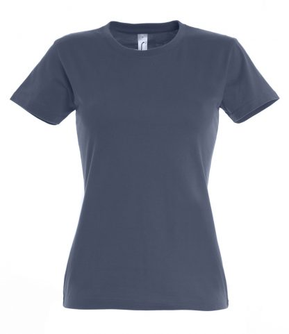 SOLS Ladies Imperial T-Shirt Denim 3XL (11502 DNM 3XL)