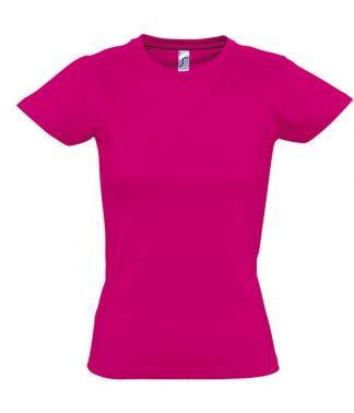 SOLS Ladies Imperial T-Shirt Fuchsia XXL (11502 FUS XXL)