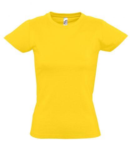 SOLS Ladies Imperial T-Shirt Gold 3XL (11502 GOL 3XL)