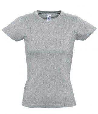 SOLS Ladies Imperial T-Shirt Grey marl 3XL (11502 GYM 3XL)