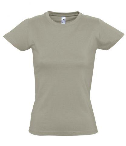 SOLS Ladies Imperial T-Shirt Khaki XXL (11502 KHA XXL)