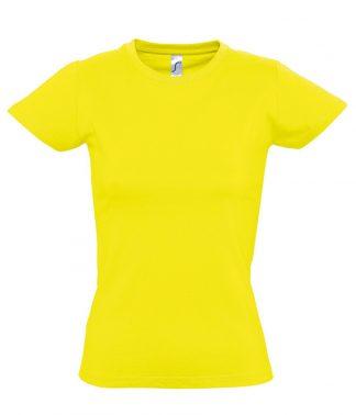 SOLS Ladies Imperial T-Shirt Lemon XXL (11502 LEM XXL)