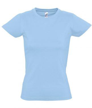SOLS Ladies Imperial T-Shirt Sky blue XXL (11502 SKY XXL)