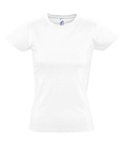 SOLS Ladies Imperial T-Shirt White 3XL (11502 WHI 3XL)
