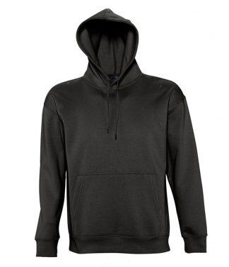 SOLS Slam Hooded Sweat Black XXL (13251 BLK XXL)