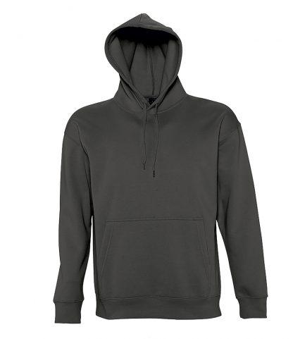 SOLS Slam Hooded Sweat Dark Grey XXL (13251 DGY XXL)