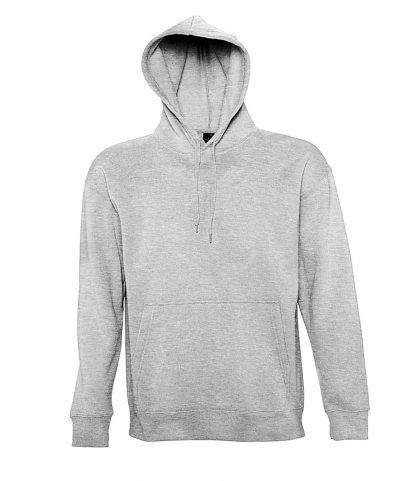 SOLS Slam Hooded Sweat Grey marl XXL (13251 GYM XXL)