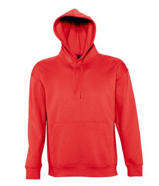 SOLS Slam Hooded Sweat Red XXL (13251 RED XXL)