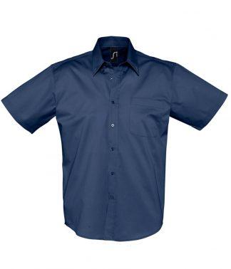 SOLS Brooklyn S/S Shirt French navy 4XL (16080 FNA 4XL)
