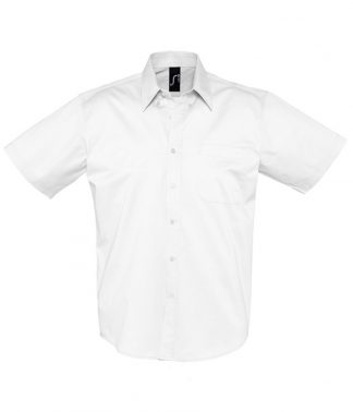 SOLS Brooklyn S/S Shirt White 4XL (16080 WHI 4XL)