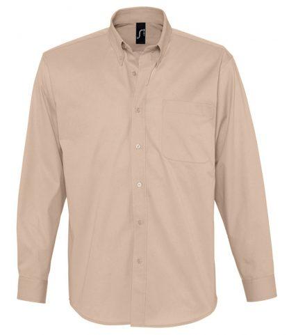 SOLS Bel-Air L/S Shirt Beige 4XL (16090 BEI 4XL)