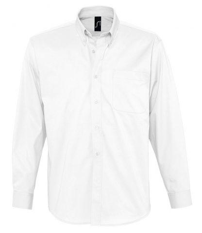 SOLS Bel-Air L/S Shirt White 4XL (16090 WHI 4XL)