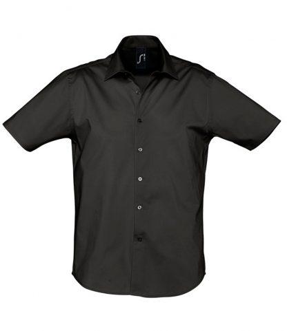 SOLS Broadway S/S Shirt Black 4XL (17030 BLK 4XL)