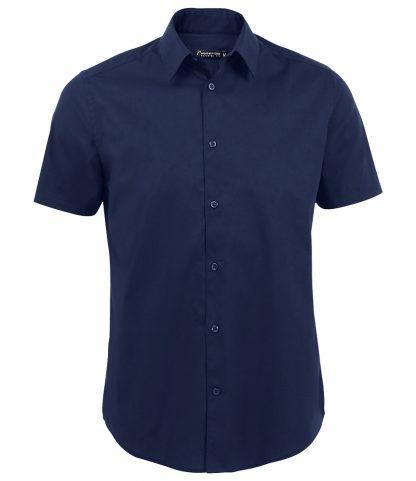 SOLS Broadway S/S Shirt Dark Blue 4XL (17030 DBL 4XL)