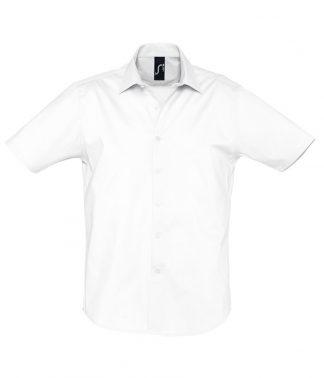 SOLS Broadway S/S Shirt White 4XL (17030 WHI 4XL)