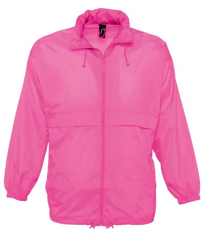 SOLS Surf Windbreaker Jkt Neon pink XXL (32000 NPI XXL)