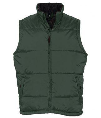SOLS Warm Bodywarmer Forest green 5XL (44002 FOR 5XL)